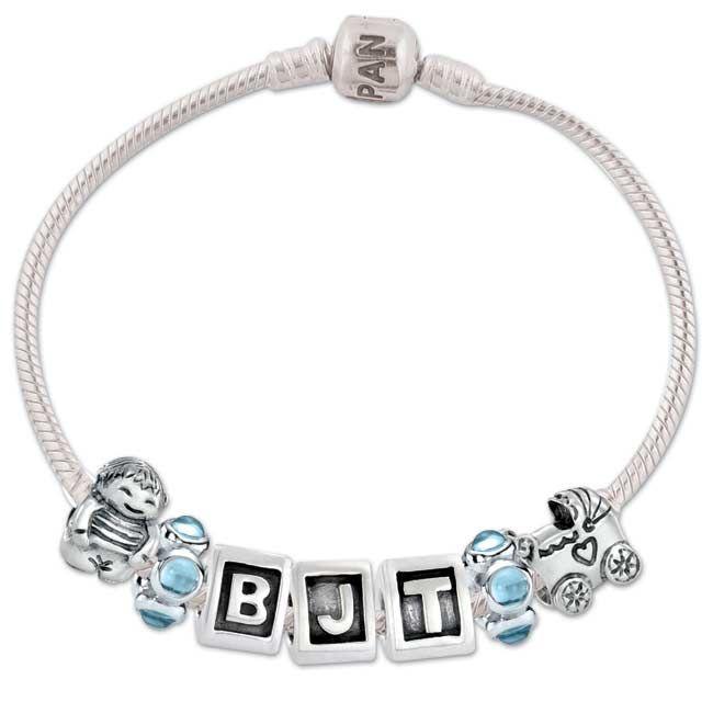 e6fc05b82 Pandora Baby Boy Bracelet | Pandora | Boys bracelets, Bracelets ...