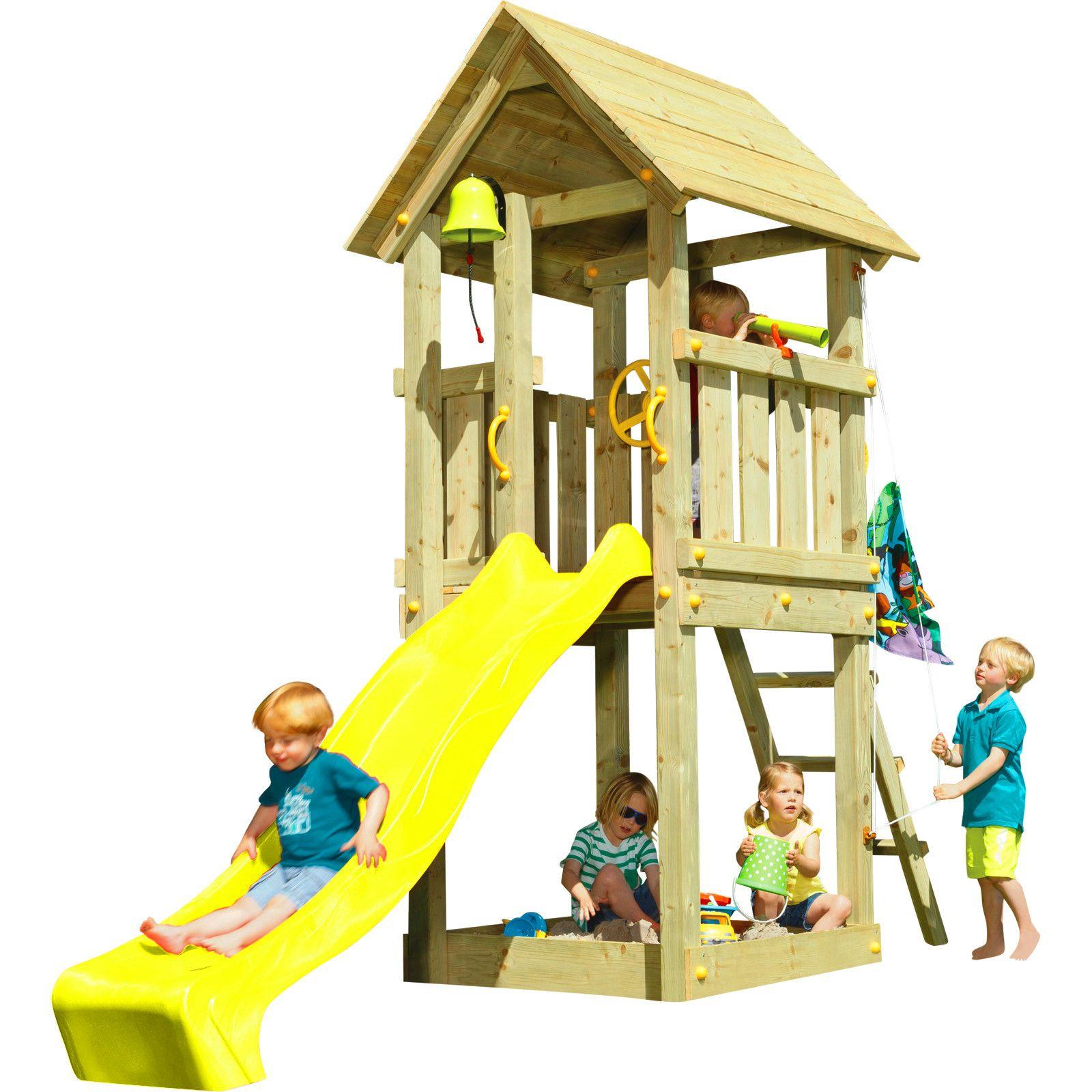 Spielturm Kiosk Mit Rutsche Patio Makeover Outdoor Toys Playground