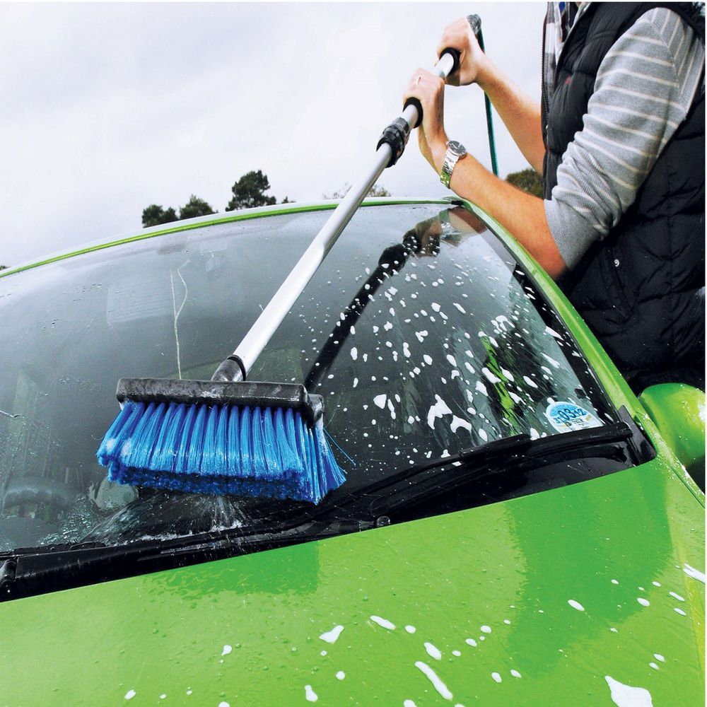 Vehicle Car Wash Brush Soft 60 Inch Telescoping Handle Rv Flow Thru Cleaning Ebay Motors Automotive Tools Supplies Care Detailing