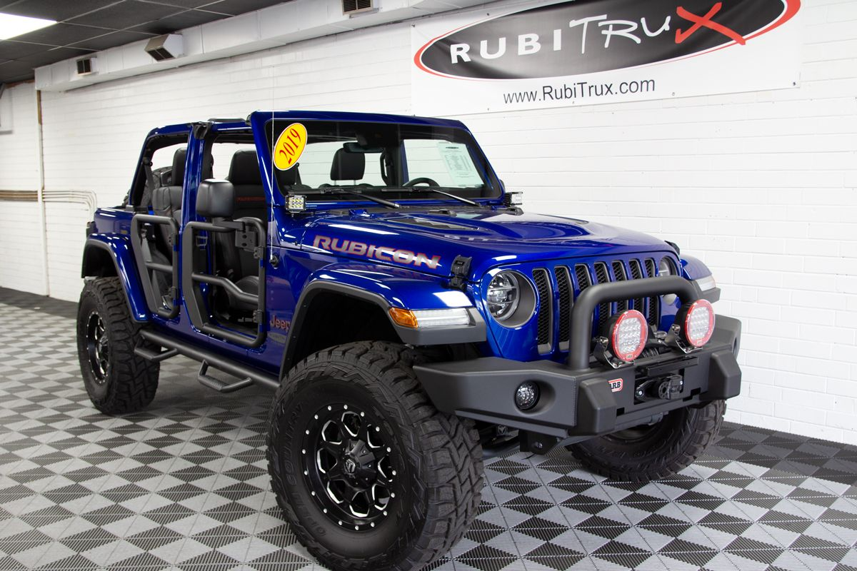 2019 Jeep Wrangler Rubicon Unlimited Jl Ocean Blue Metallic Blue Jeep Rubicon Jeep Wrangler Jeep Wrangler Rubicon
