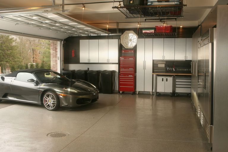 22 Best And Cool Garage Interior Designs Ideas At Your Home