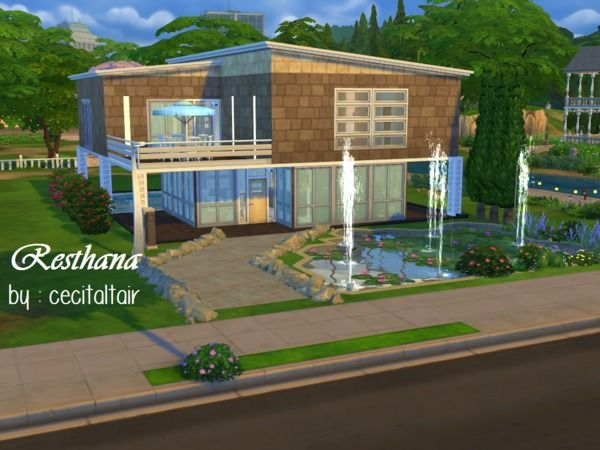 Cecitaltair S Resthana No Cc Sims4 Maison Pinterest Sims