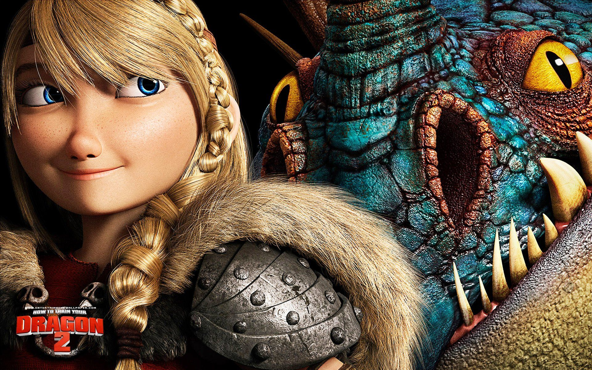 How To Train Your Dragon 2 Poster Astrid And Stormfly Wallpaper