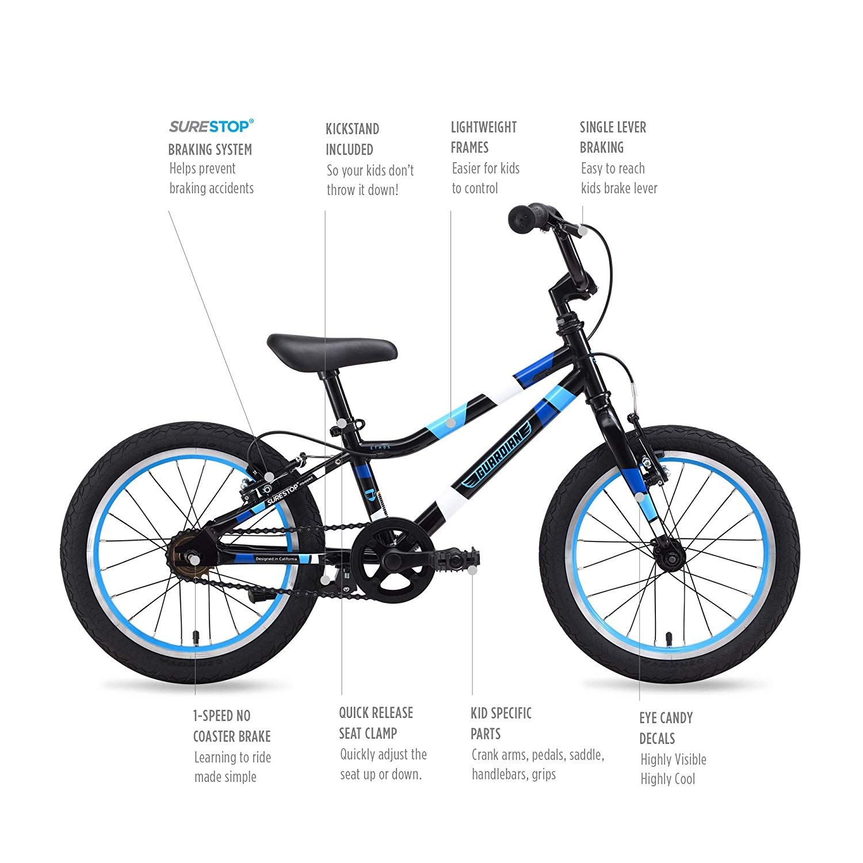 Guardian Kids Bikes Ethos 16 20 24 Inch Multiple Colors For Boys Girls Safer Brake System For Kids Lightweight Steel Construct Kids Bike Coloring For Boys Bike
