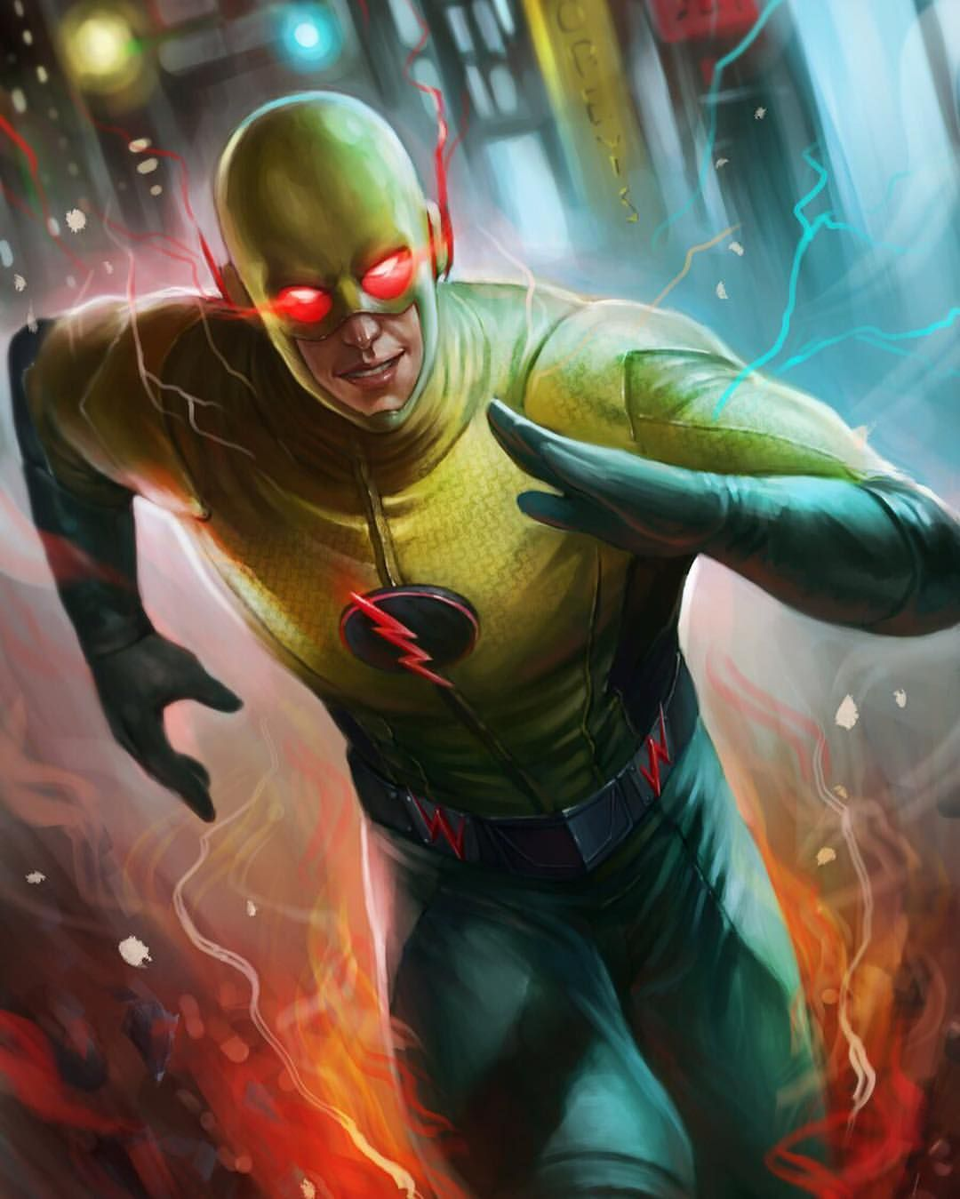 Reverse Flash Reverse Flash Flash Comics Flash Wallpaper