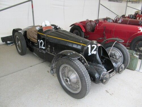 1934 Bugatti type 59 at GR 2015