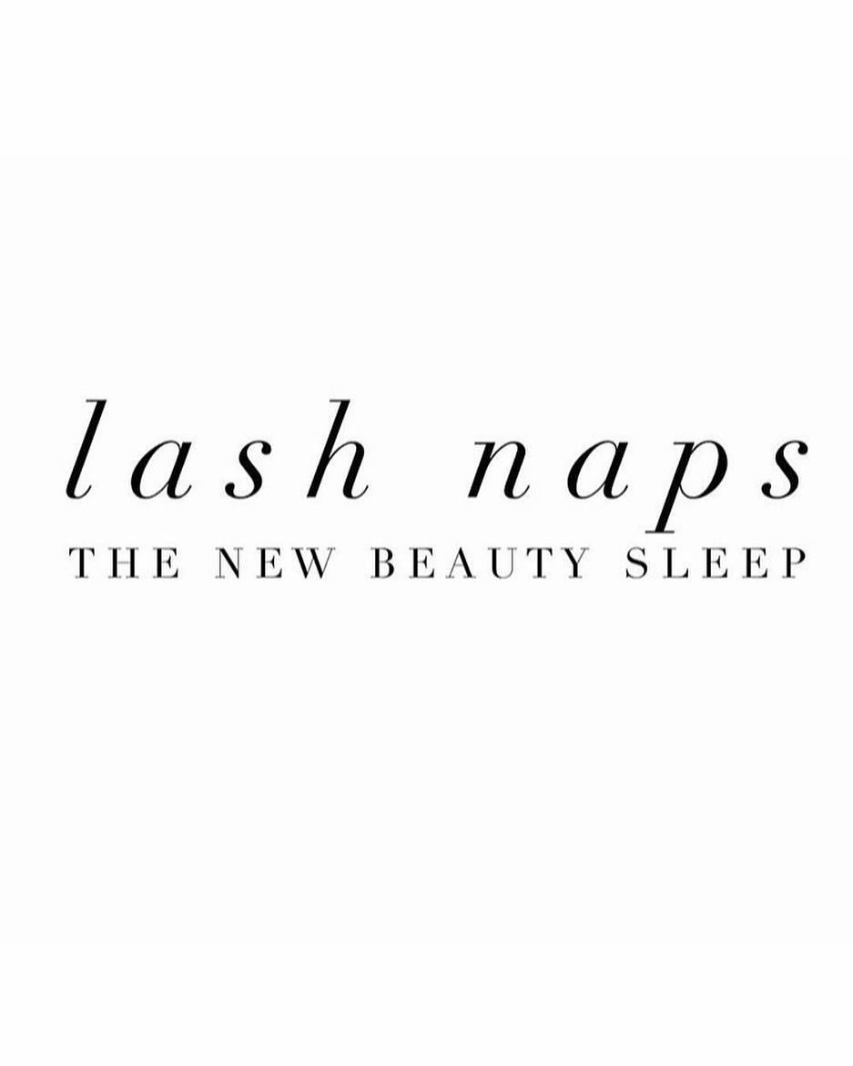 """Photo of LASHES BY ELY™ on Instagram: """"Complimentary LASH NAPS with every full set and infill! 😴💙😋 #lashesbyely #restandrelax #monday"""""""