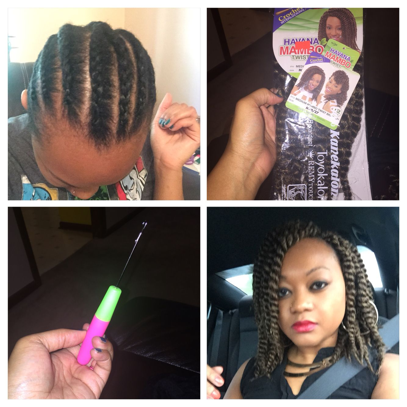 What kind of hair do you use for crochet braids - Crochet Braids Havana Twist Hair 12 Inch