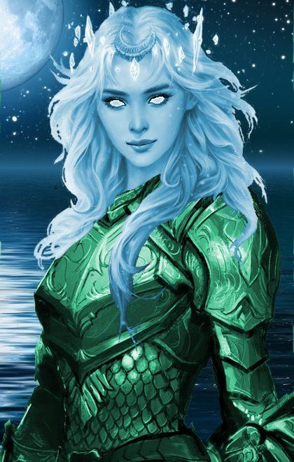 the emrald female warior of the deep | Dungeons and ...