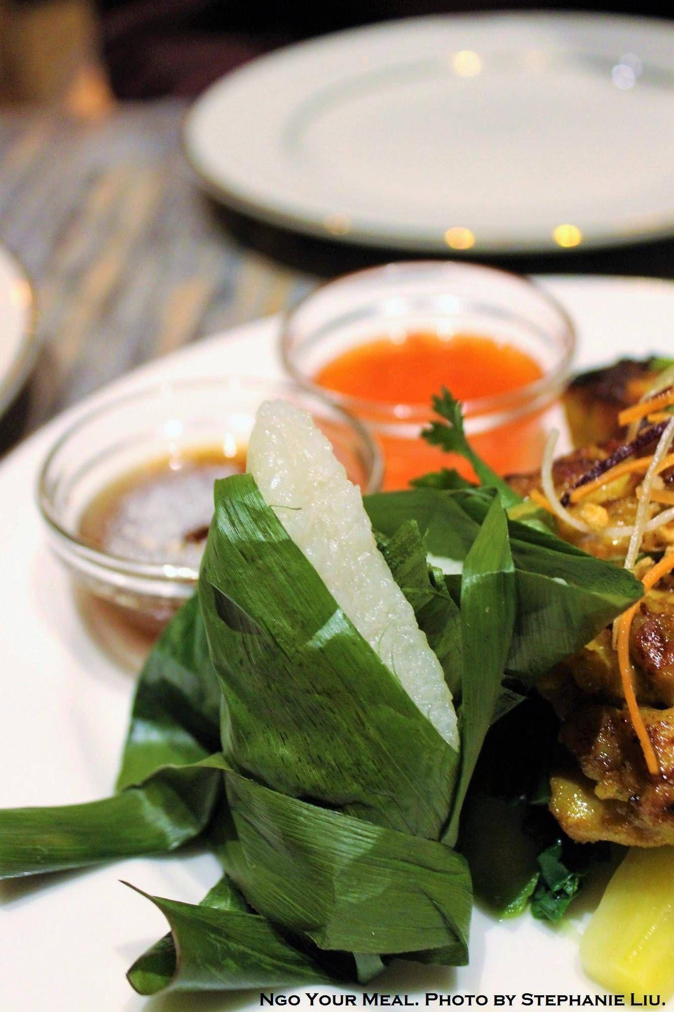 Coconut sticky rice at thai villa in new york city royal