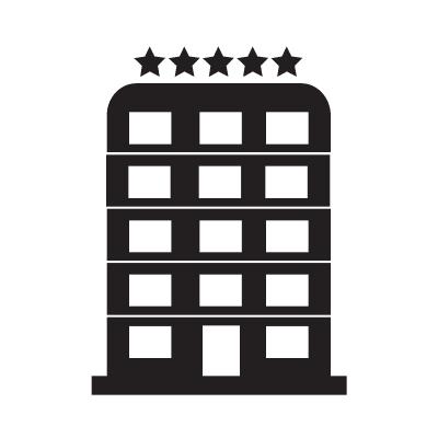 5 Star Hotel Icon Free Vector Icon0 Com Icon Illustration Illustration Design 5 Star Hotels