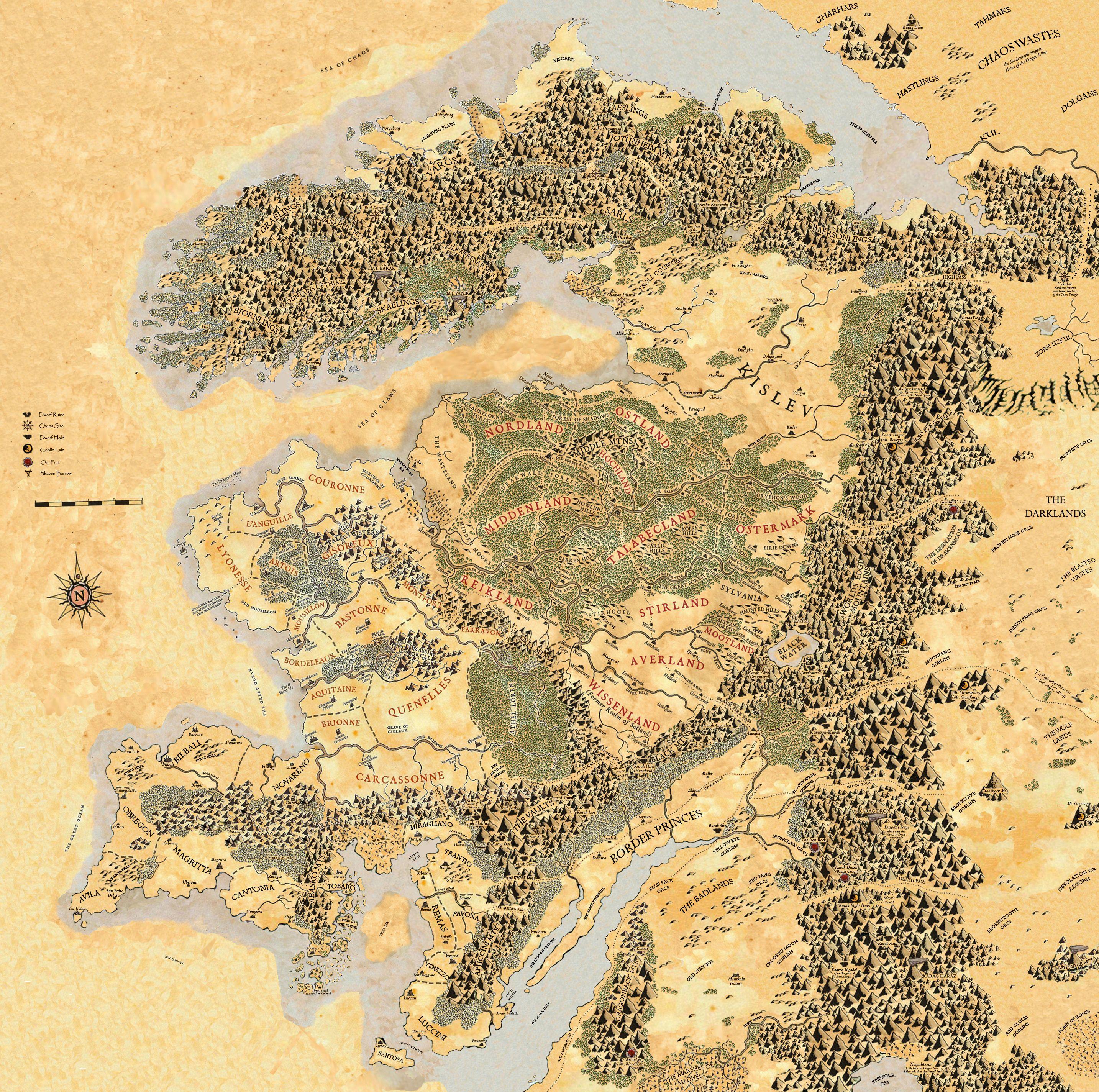 Warhammer Map Jerusalem House