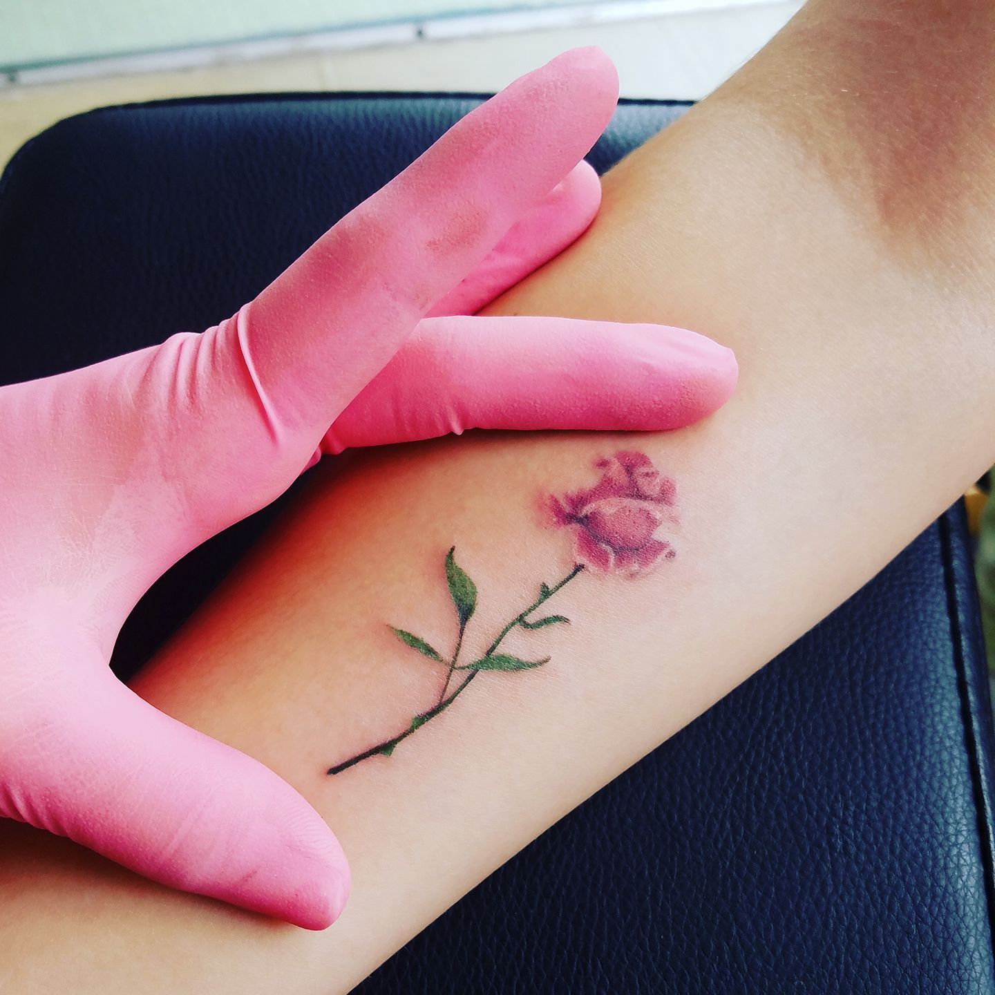 00ce93936 Super cute micro rose tattoo by sam! | Tattoos & Piercings at Ink ...