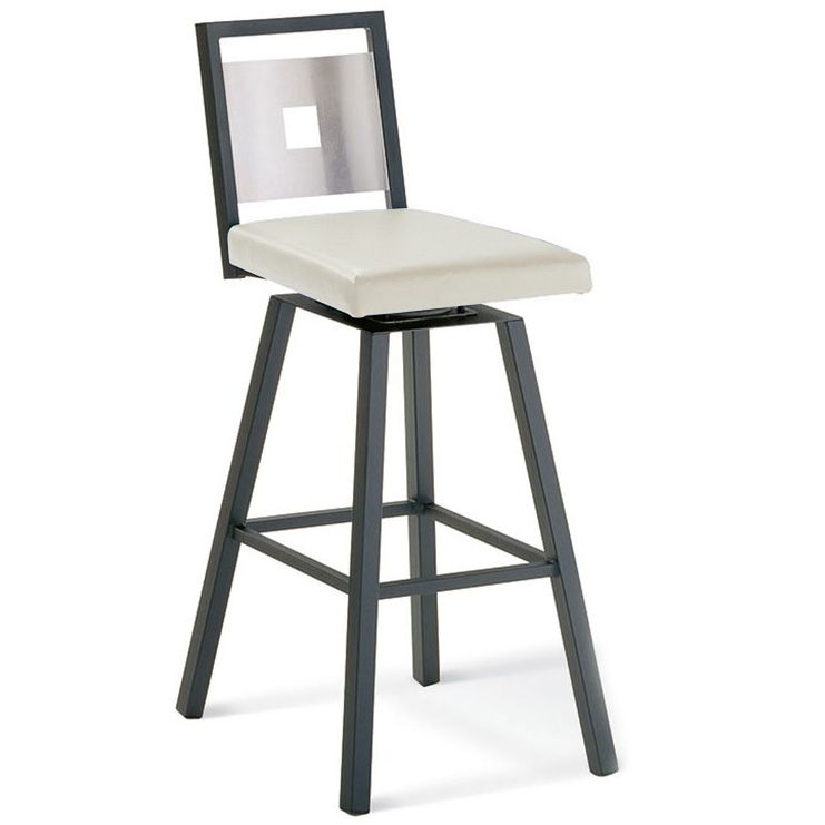 The Jasper Swivel Bar Stool Has An Upholstered Swivel Seat And Is Warranted  Against Manufacturing Defects