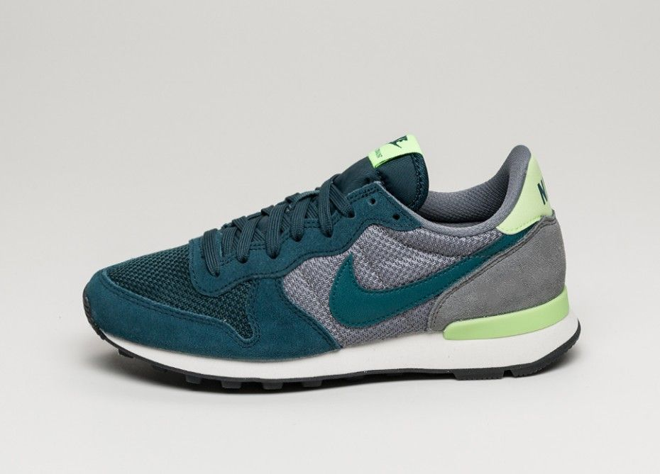 Nike wmns Internationalist (Mid Teal / Teal - Cool Grey - Ghost Green)