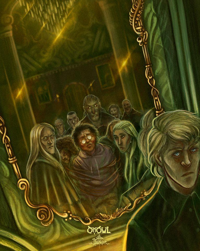 Malfoy Doesn T Identify Harry In 2020 Harry Potter Harry Potter Characters Harry Potter Fantastic Beasts