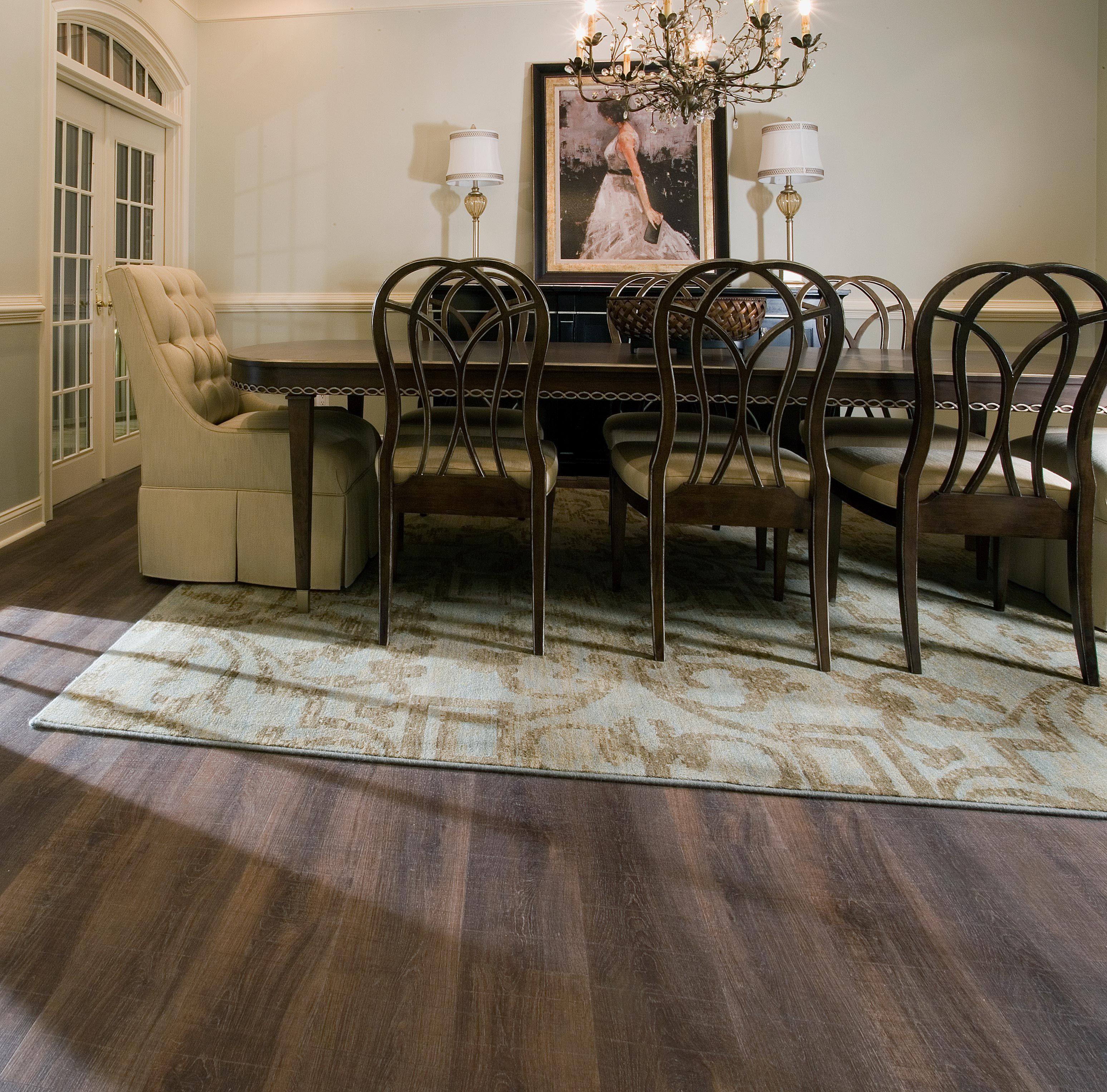 Dalton Dream Home Installation Carpets of Dalton COREtec