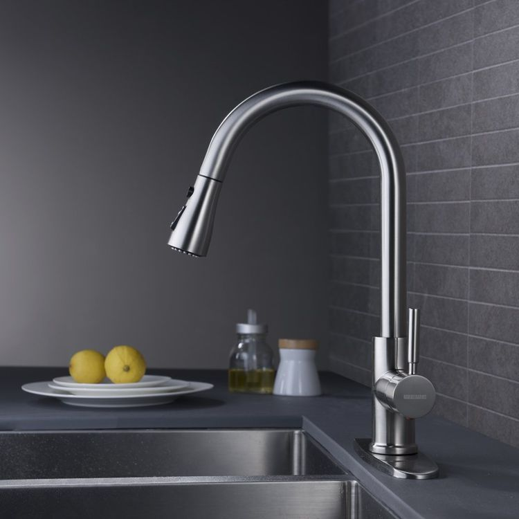 The Best Kitchen Faucets Of 2021 Best Kitchen Sinks Kitchen Faucet Pull Out Kitchen Faucet