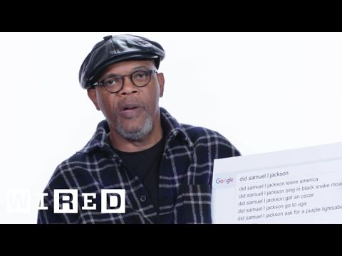 Samuel L. Jackson Answers the Web's Most Searched Questi…