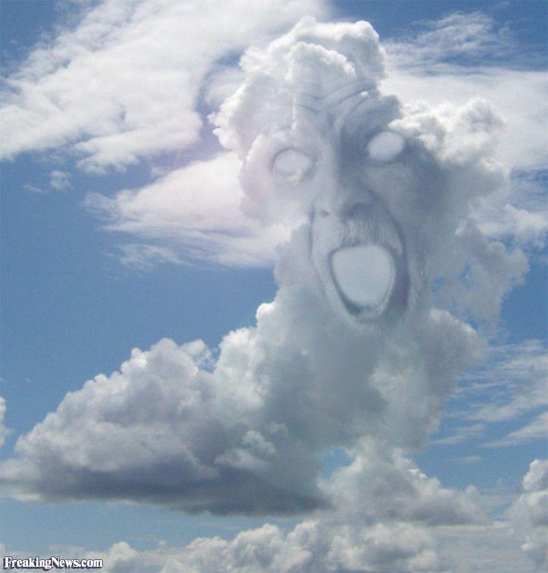 лик в небе картинки