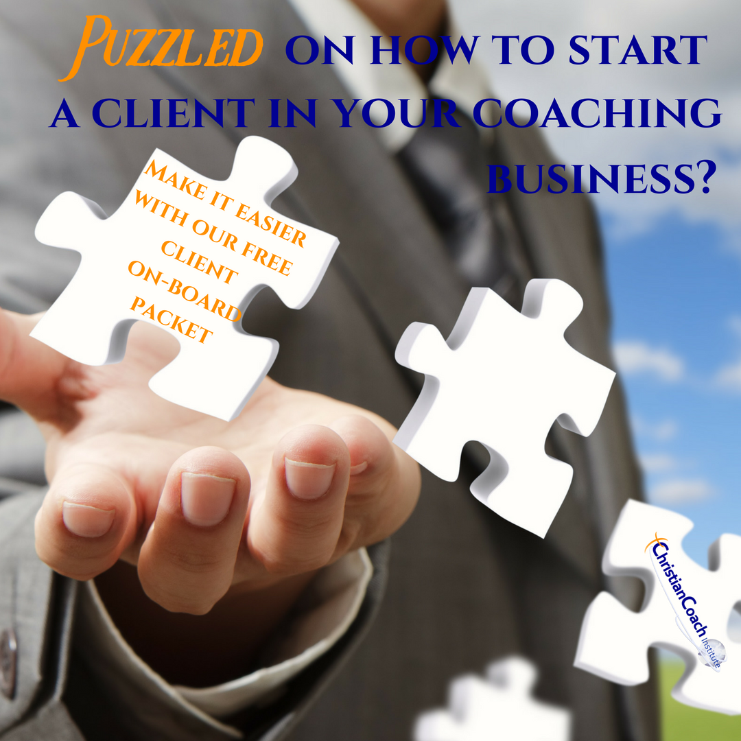 Puzzled On How To Start A Client In Your Coaching Business Make It