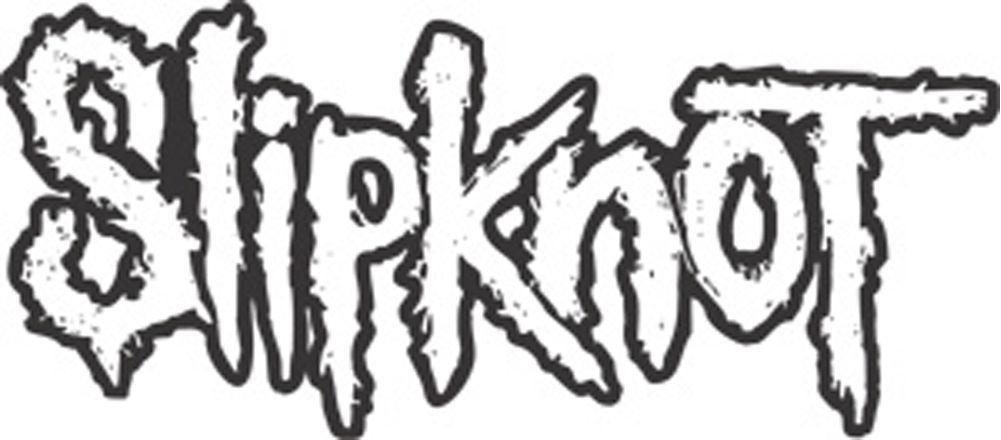Slipknot Logo Outline Rub-On Sticker   Cutting file   Pinterest ...
