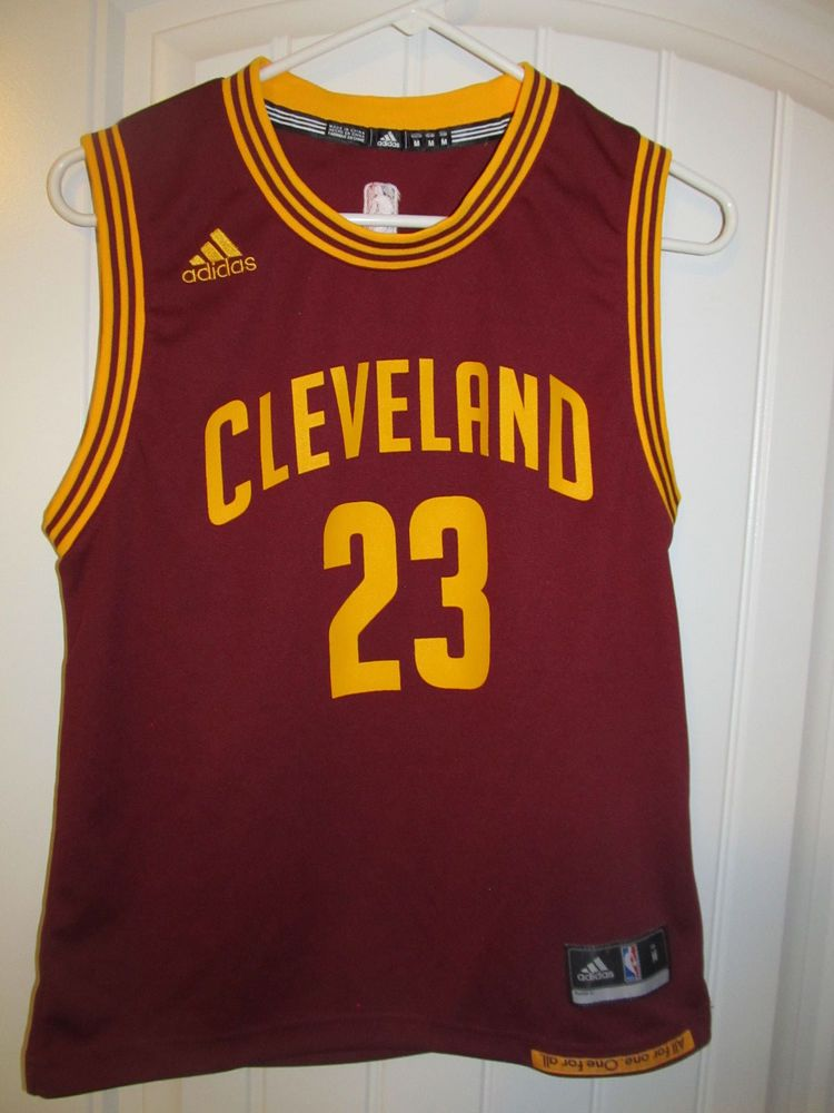new product 14f66 0d27e LeBron James - Cleveland Cavaliers jersey - Adidas youth ...