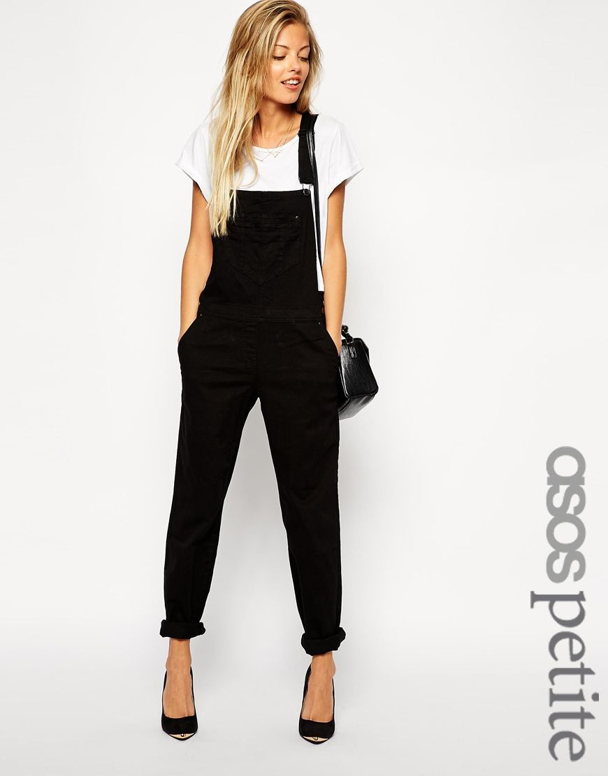 7172a4b65dba Image 1 of ASOS PETITE 90s Style Dungarees