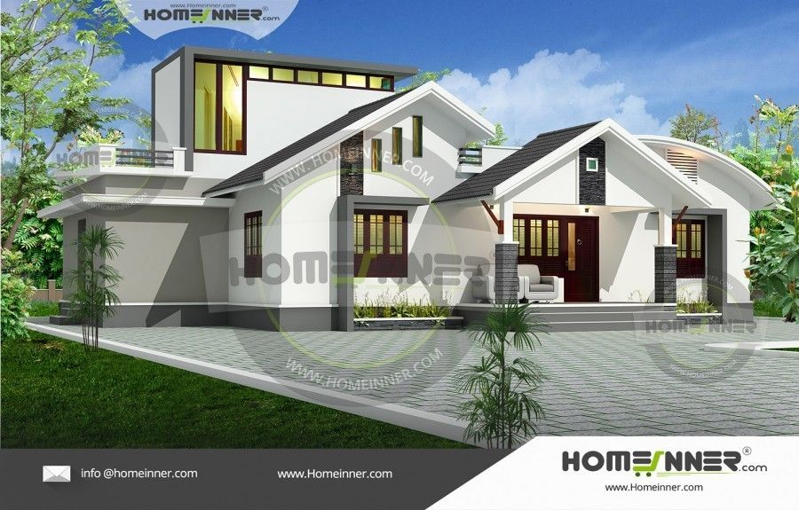Fusion style bhk spacious house plan also home designs pinterest rh in