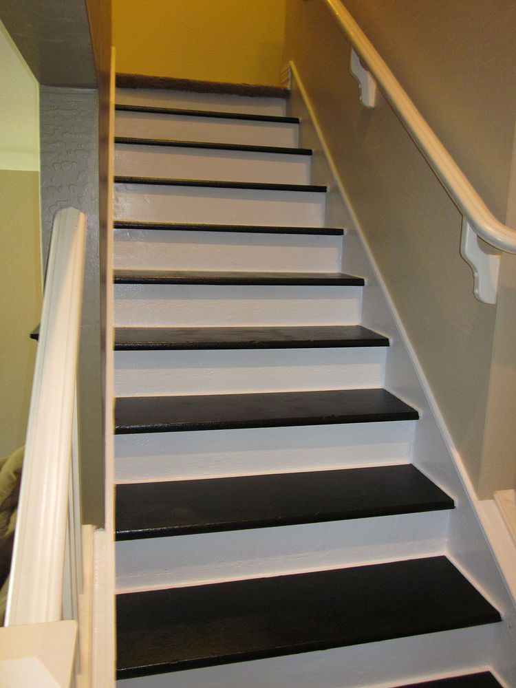 basement stairs idea adding decals to stair risers description rh pinterest co uk