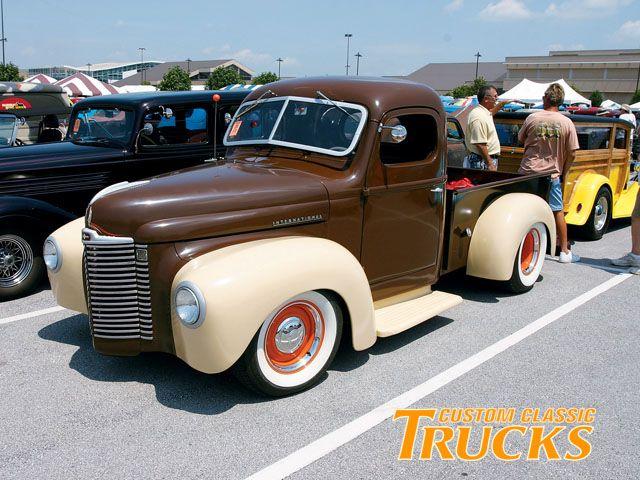 Louisville Street Rod Nationals International Truck Photo 17