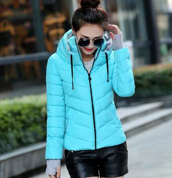 New Arrival Ladies Fashion Coat Winter Jacket Outerwear Short Wadded Jacket  Female Padded Parka Overcoat a1f543c50d