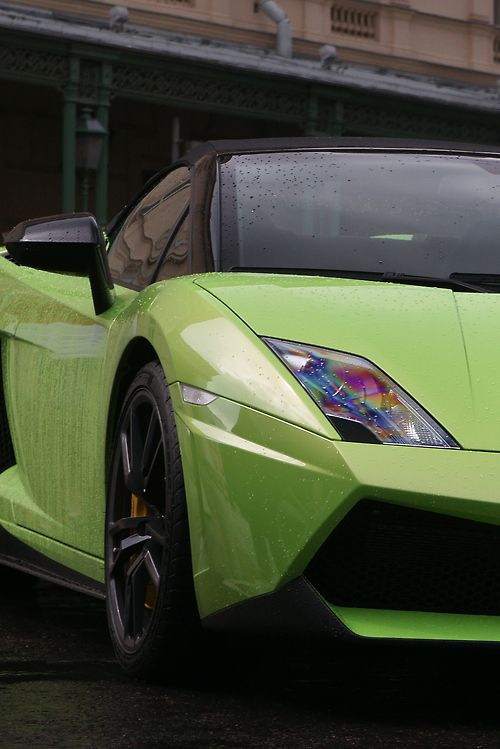 The Green One.   #Lambo