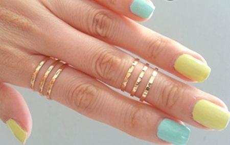 Bagues, ajustable bague knuckle - or bague est une création orginale de Superarmband sur DaWanda