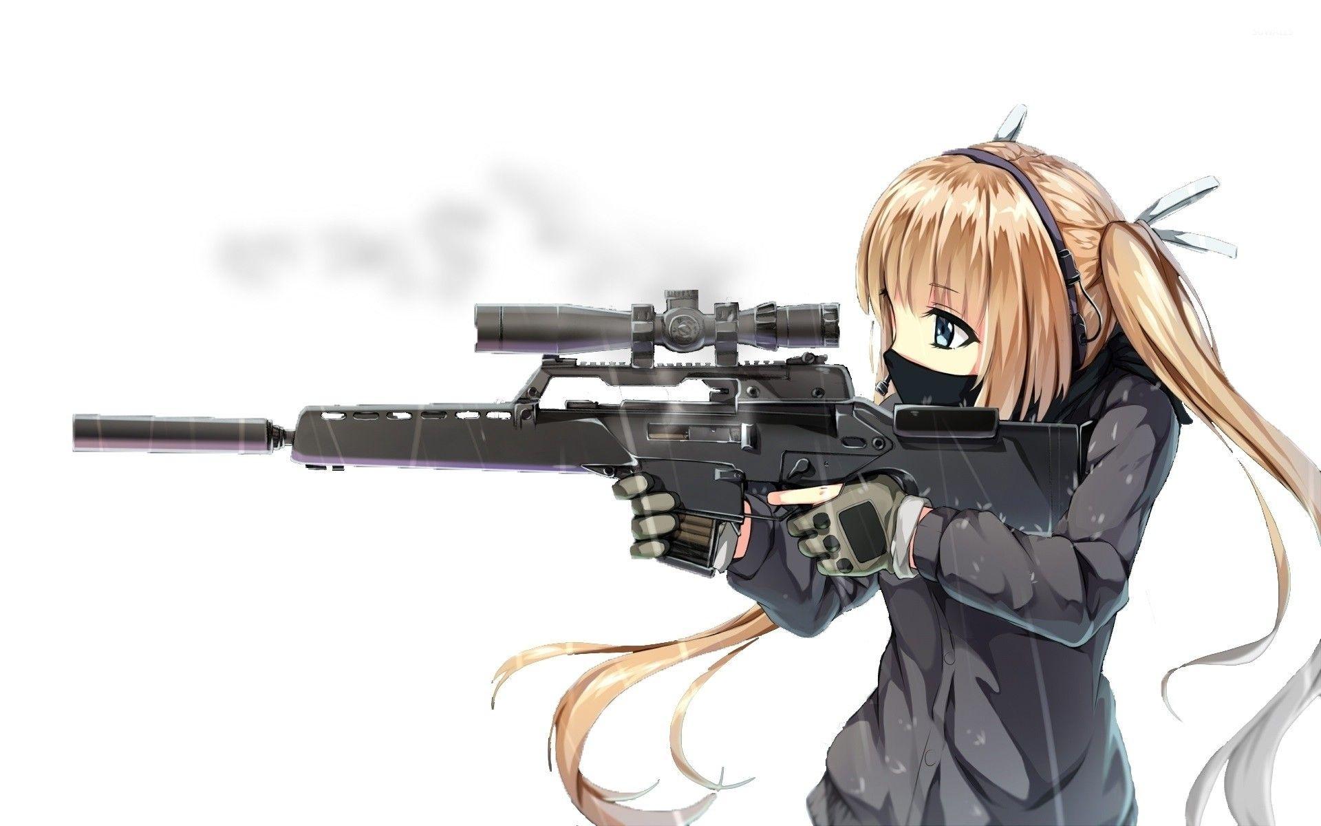 Anime Wallpapers Hd Anime Wallpapers Anime Sniper Girl