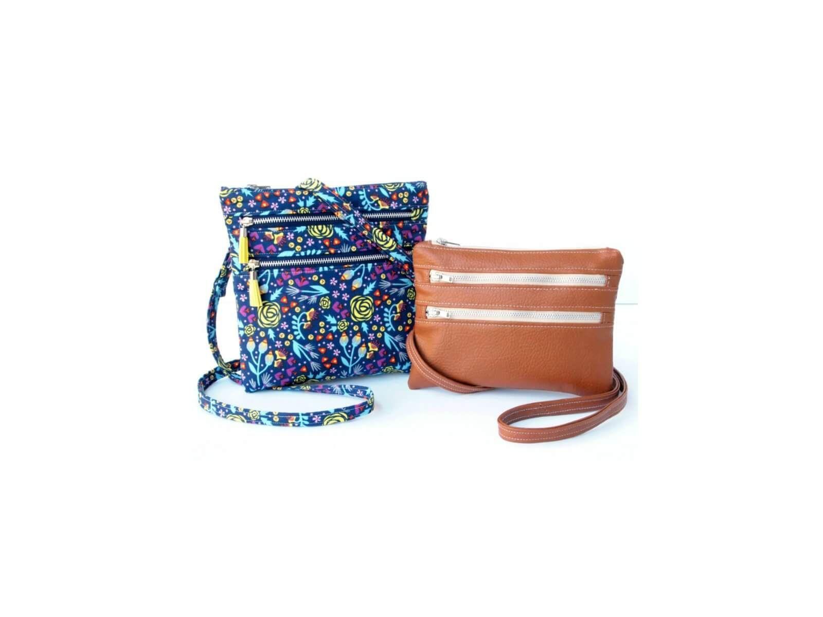 Zippy Crossbody Bags Instant Download   Sew   Pinterest