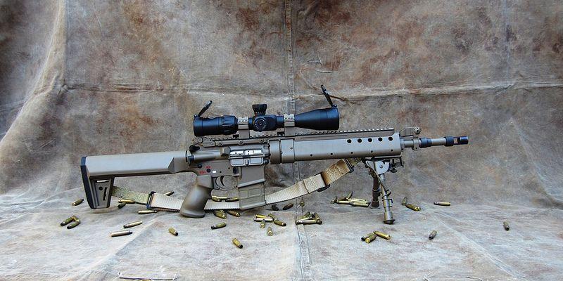 SPR, PRI Gen III Delta handguard, EFX-A1 stock | Shotguns ...