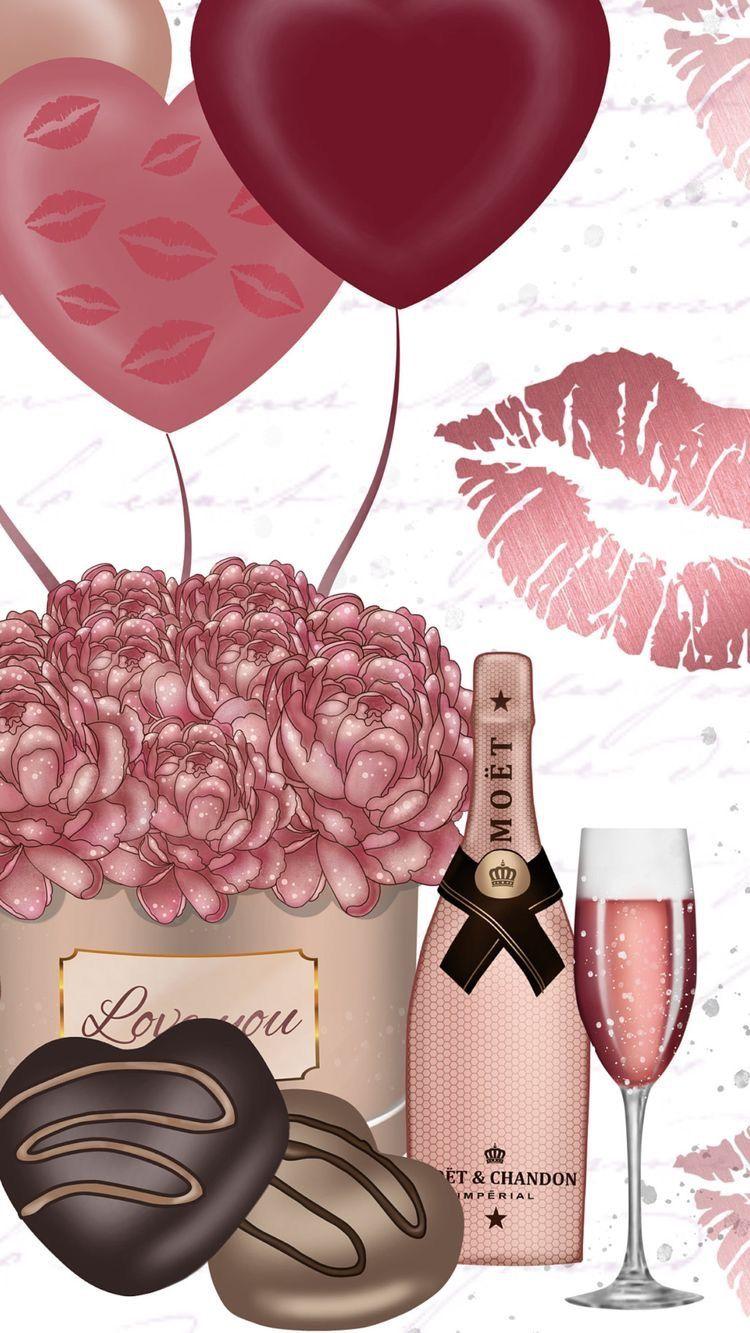 Pin By Shahla Islim On Illustration Birthday Flowers Fashion Wallpaper Happy Birthday