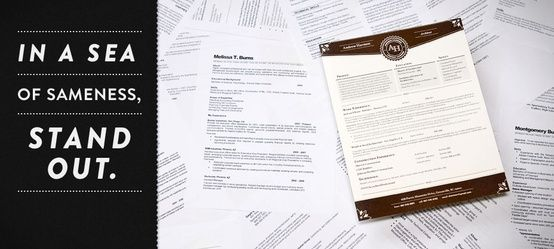 The Best Looking Resumes You\u0027ve Ever Seen « Anna Rydne Communicate