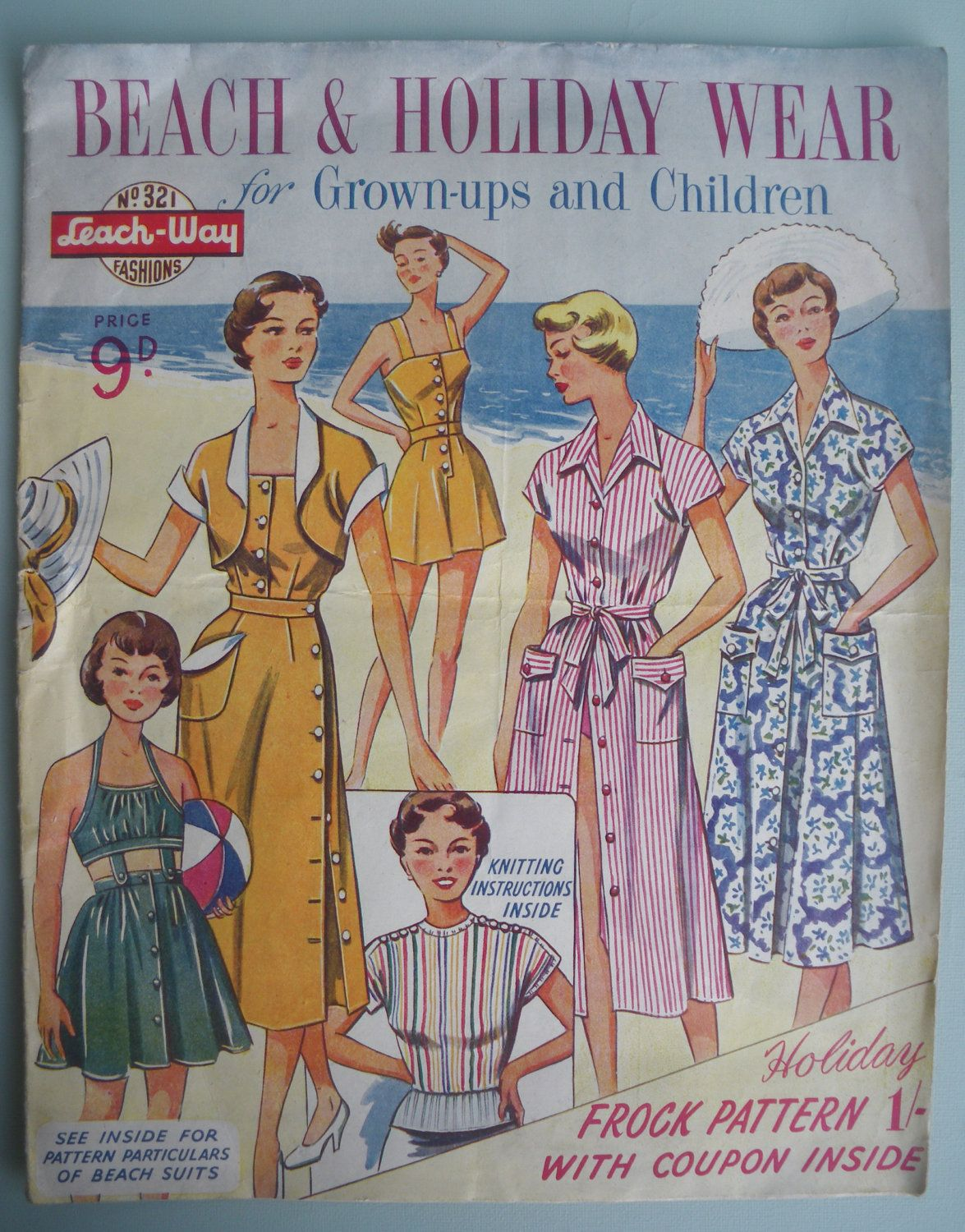 1940s and 1950s house designs | Vintage Sewing Patterns ...