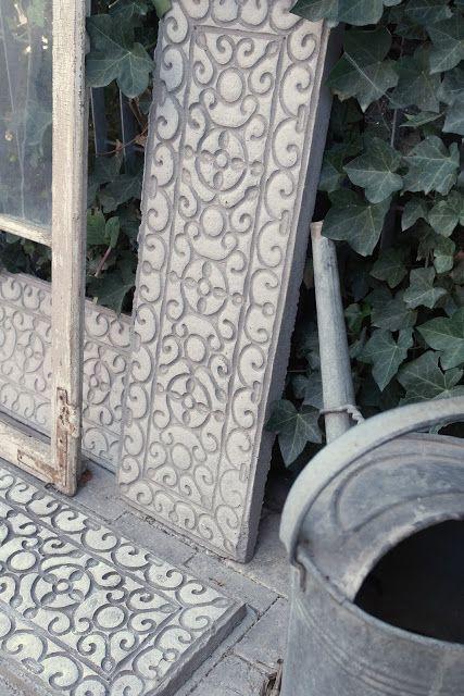 Photo of Shabby Chic Fai da te ornato in beton