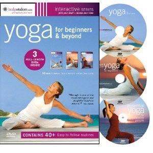 yoga box set for beginners  easy yoga workouts beginner