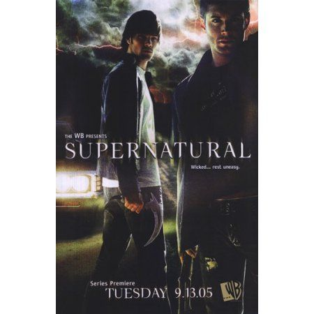 Supernatural (TV) Movie Poster (11 x 17) | Posters | Pinterest