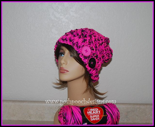 Ravelry Pinky Crossover Slouch Hat Pattern By Sara Sach