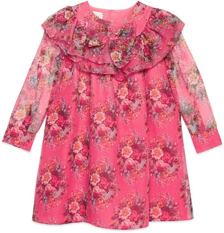 39c7b338c5a2f Children's floral print silk dress #ShopStyle #giftideas #holidays click  for information or to