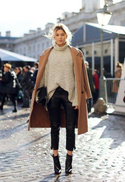 Photo of 15 stilige måter å bruke en tykk genser på – motetips