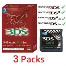 3 Packs #R4i #SDHC #3DS v4 5 Cartridge | R4 Card wholesale