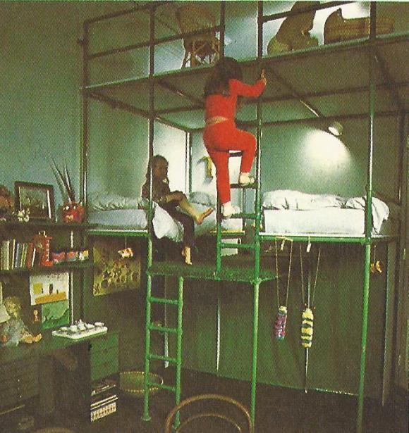 Totally Dangerous 1970s Bunk Beds For Children S Room