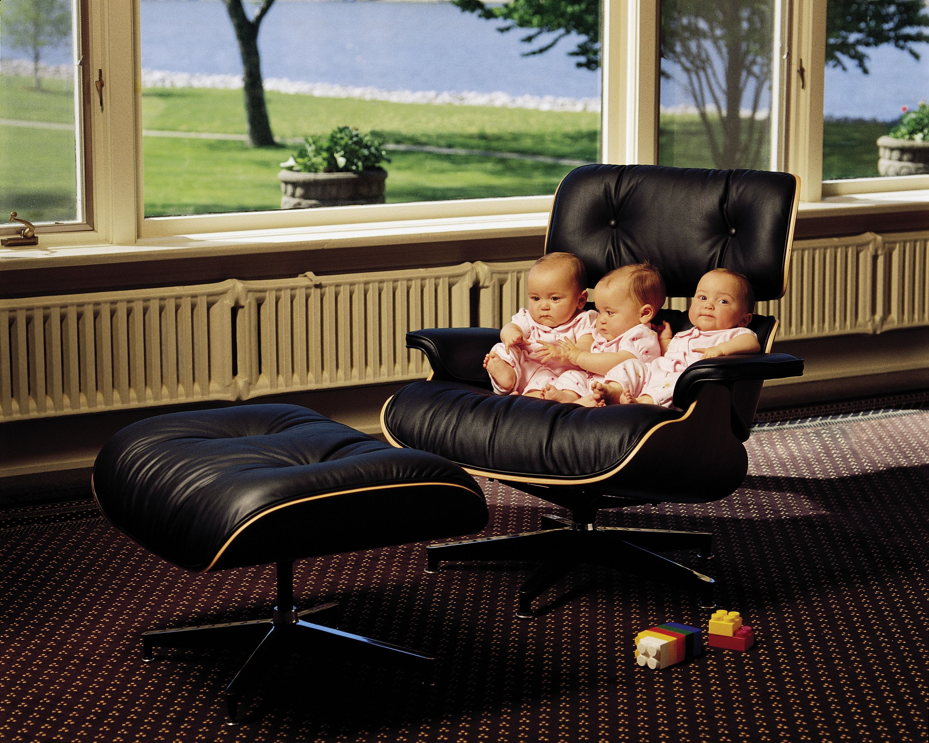 Eames Lounge Chair   Vitra   Babys In The Chair!