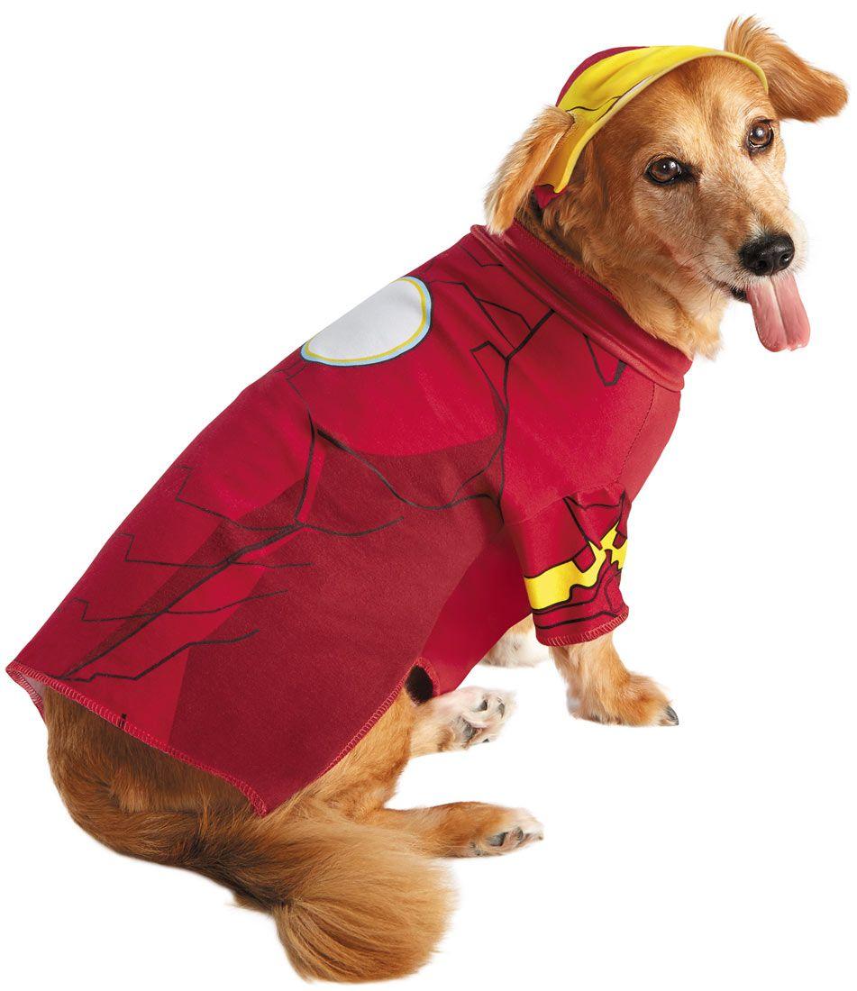 Iron Man Dog Costume Dog Costumes Pet Costumes Superhero Dog